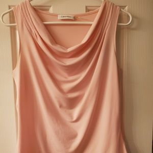 Pink Sleeveless blouse - Calvin Klein